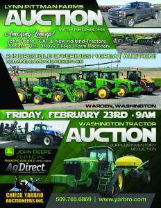 Lynn Pittman Farms Retirement Auction
