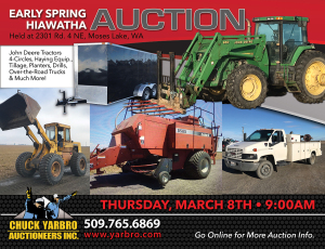 Early Spring Hiawatha Valley Equipment Auction