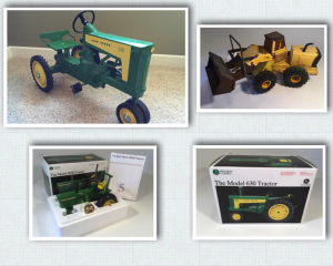 Bob & Nia Collins Living Estate-Toy Tractor Collectors Online Auction