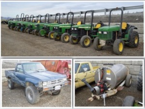 Orchard Equipment Auction - Stemilt Ag Services and Others