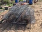 "Pallet 48"" Fence Wire & Barb Wire"