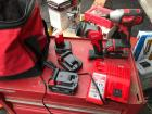 Milwaukee Cordless Drill and Light W/ Chargers