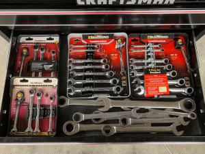 E4 Gear Wrench Standard & Metric Combo Wrenches
