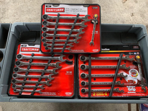 E6 NIB Craftsman Ratcheting Wrenches