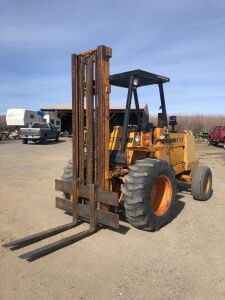 Case 584C Rough Terrain Forklift