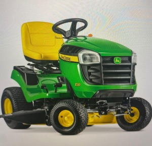 RDO New John Deere E130 Lawn Tractor and  1 year of service