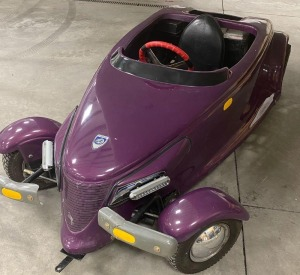 Purple Prowler Go-Cart donated by Jensen Farms, Inc