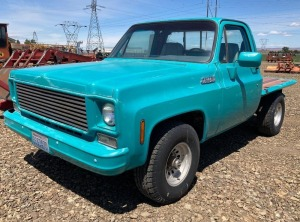 1977 Chevy 1500 Sierra Classic Regular Cab Pickup - Restored