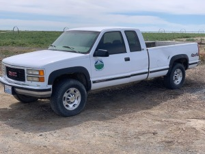 1997 GMC 2500 3/4 Ton Extended Cab Pickup - Not Functional