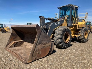 2009 Deere 724K Wheel Loader