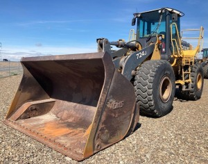 2007 Deere 724J Wheel Loader