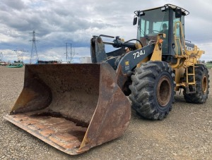 2006 Deere 724J Wheel Loader