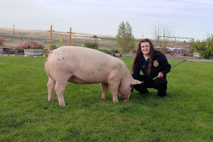 Gracie Bise - Wilson Creek FFA