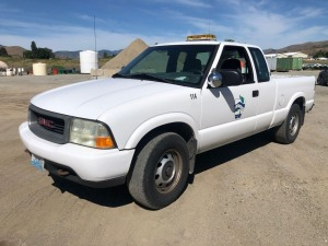 2001 GMC Sonoma Extended Cab Pickup