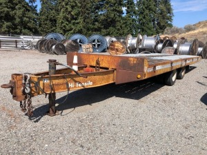 1992 Eager Beaver 10TXA Hi-Tensile Equipment Trailer