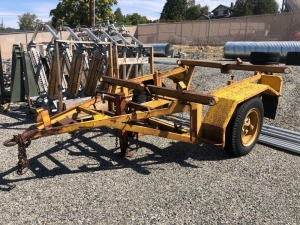1968 Hogg & Davis Pole Trailer