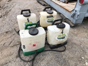 4-Parts Backpack Sprayers