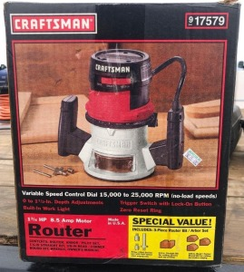 Craftsman Router