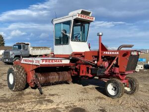 Freeman 370W Self-Propelled Baler
