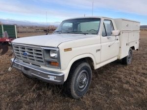 1986 Ford F-250 Pickup - Sold Offsite