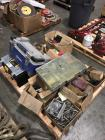 Pallet of Tool Boxes, Bolts and Misc