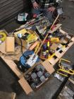 Pallet of Paint Mixers, Lamps and Misc