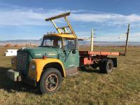 Stack Retriever-Truck-No Title! Retriever Only, Buyer takes home unit and removes at buyers timing. Disposal of truck at buyers expense