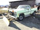 1976 Chevy 20 Pickup & Plow