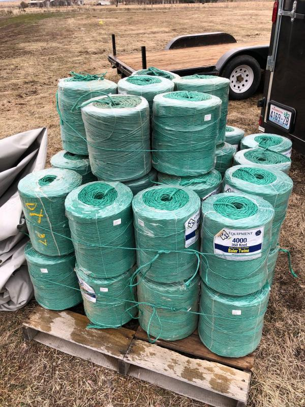 37) Rolls of 350 Count Baling Twine