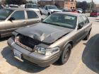 2008 Crown Vic Police Interceptor - Vehicle Has Been Wrecked - Sold w/Title
