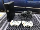#1086 XBOX 360 w/2-Controllers