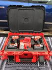 #1087 Never Used Milwaukee M18 Drill & Impact Packout Set