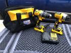#3311 Never Used 20v Drill, Lightly Used 20v Impact, Charger and Bag
